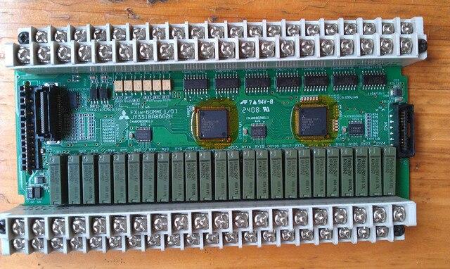 Бесплатная доставка IO совета MITSUBISHI FX1N-60MR-001 PLC Используется.