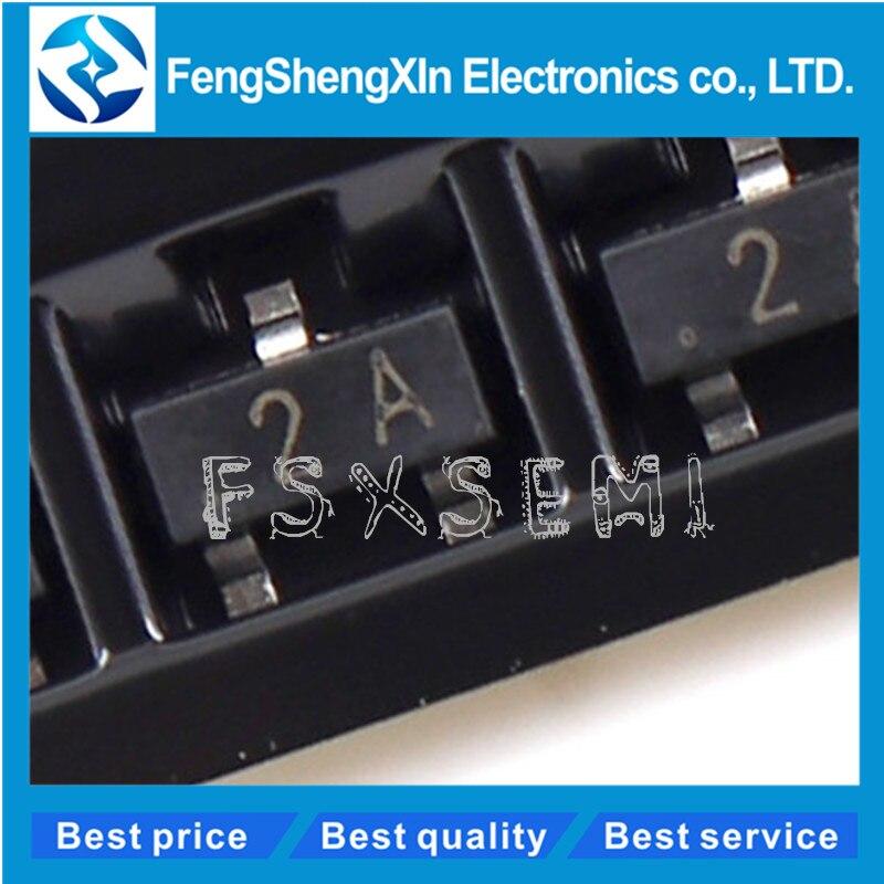 100pcs/lot  MMBT3906 MMBT3906LT1G 2N3906 2A H2A Transistor SOT-23