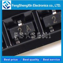 100 pçs/lote MMBT3906 MMBT3906LT1G 2N3906 2A H2A Transistor SOT-23