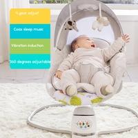 Babyfond детские кресла качалки ребенка электрический кресло качалка успокаивает ребенка артефакт спит новорожденного спальный качалка колыб