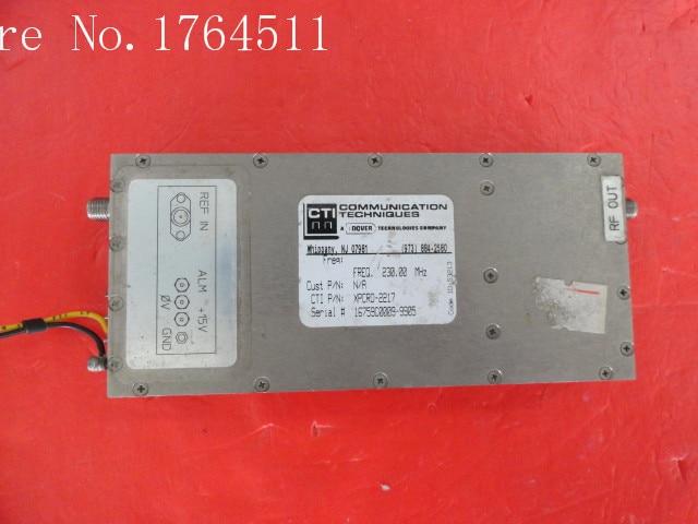 [BELLA] CTI XPCR0-2217 230MHz 15V SMA Supply Amplifier