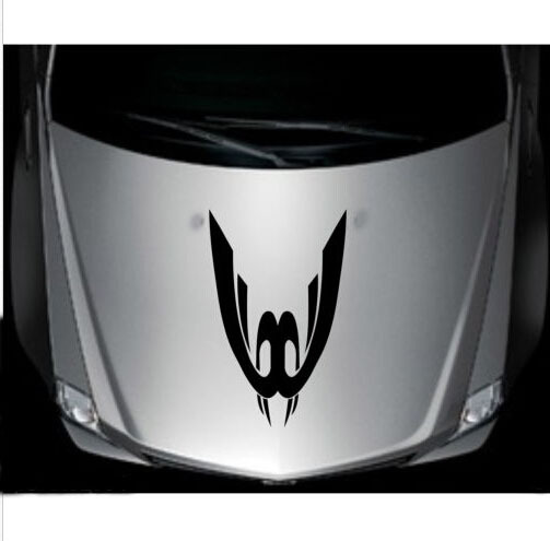 Graphics For Tribal Car Hood Decals And Graphics Www - Vinyl decals cartribal hearts decal vinylgraphichood car hoods decals and