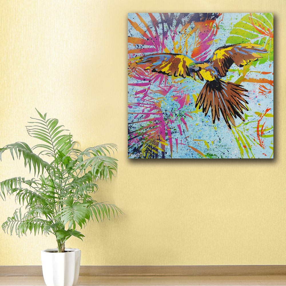 Luxury Parrot Wall Art Inspiration - Wall Art Collections ...