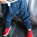 2016 Newest Baby Clothing Brand Baby Harem Pants Light Wash Child Jeans Kids Casual Denim Pants LM20