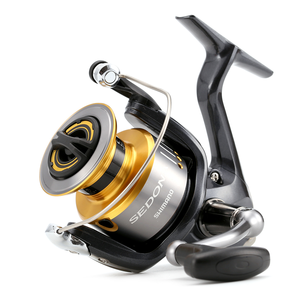 Shimano brand sedona 1000 5000fe m compact xgt 7 body 3 for Best fishing reel brands