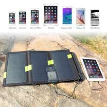 Solar Panels Charger 5V 20W Dual USB Solar Charger for iPhone iPad Samsung HTC Sony LG and more USB Devices
