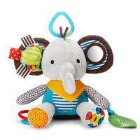 Baby Gift New Infant Toys Cute Elephant Mobile Baby Plush Toy Bed Wind Chimes Rattles Bell