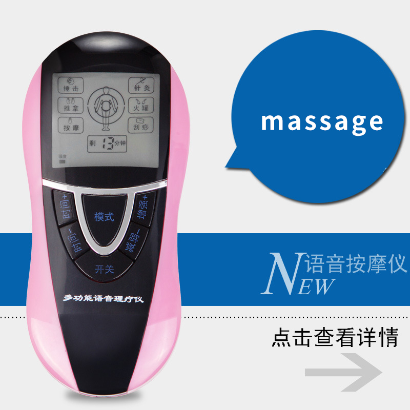 2 Electrode Health Care Tens Acupuncture Electric Therapy Massageador Machine Pulse Body Slimmming Sculptor Massager Apparatus 4 electrode health care tens acupuncture electric blue lcd digital therapy machine pulse body slim sculptor massager apparatus
