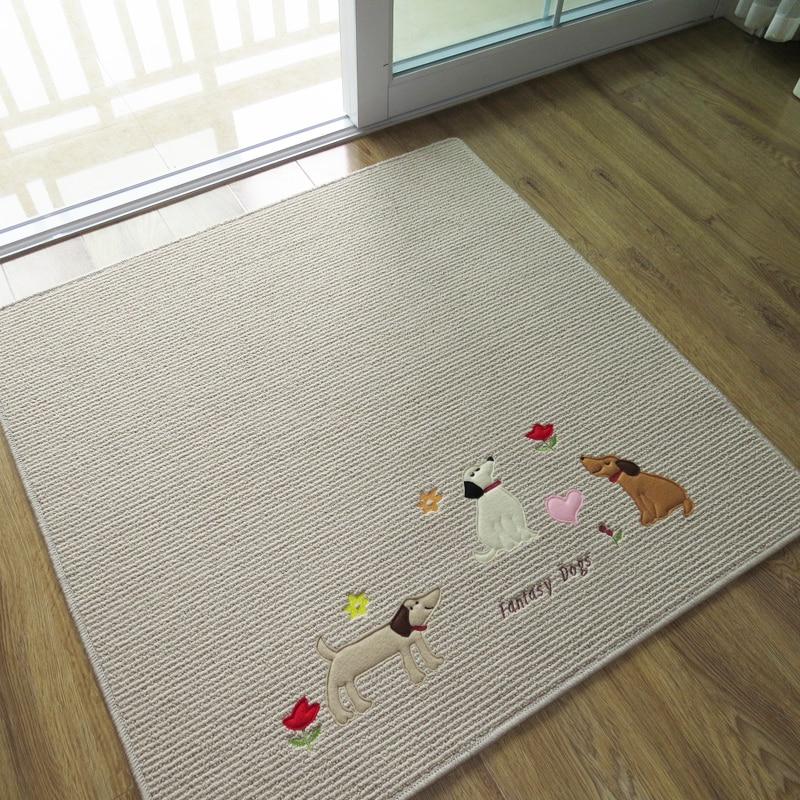 envo gratis cmantiskid invierno alfombra lavable perros lindos cuadrados de alfombras para