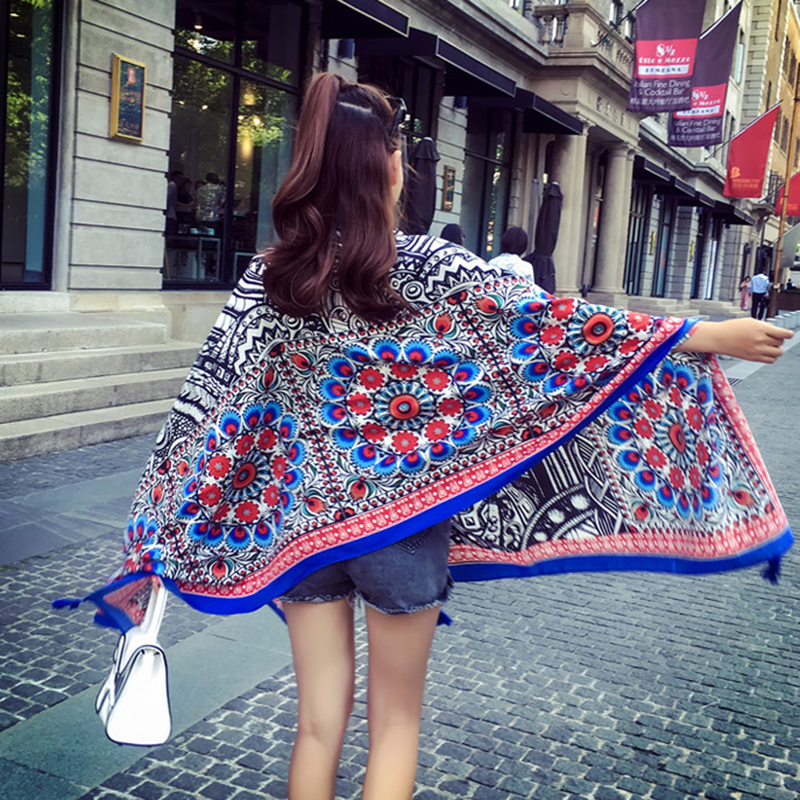 [Ternence]2017 New Arrival Fashion Women Scarves Free Shipping Print Shawl Brand Luxury Scarf