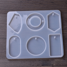 jewelry with hole big pendants Resin Silicone Mold Mould handmade DIY Jewelry Making epoxy resin molds