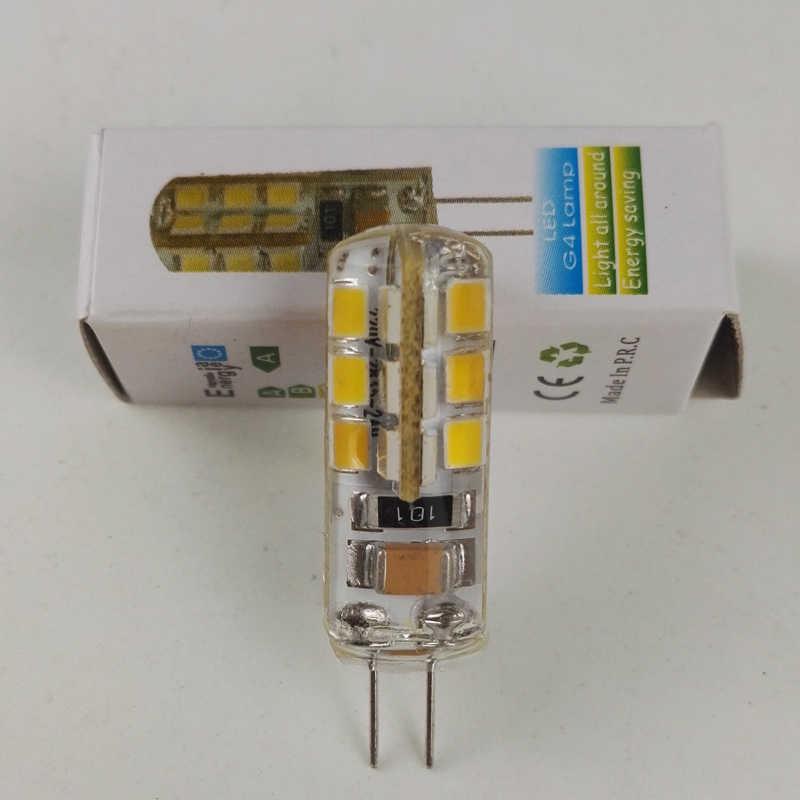 Mini 3 w G4 CONDUZIU a lâmpada AC 110/220 v 360 Ângulo de Feixe Luzes Lustre Substituir Halogênio G4 lâmpadas