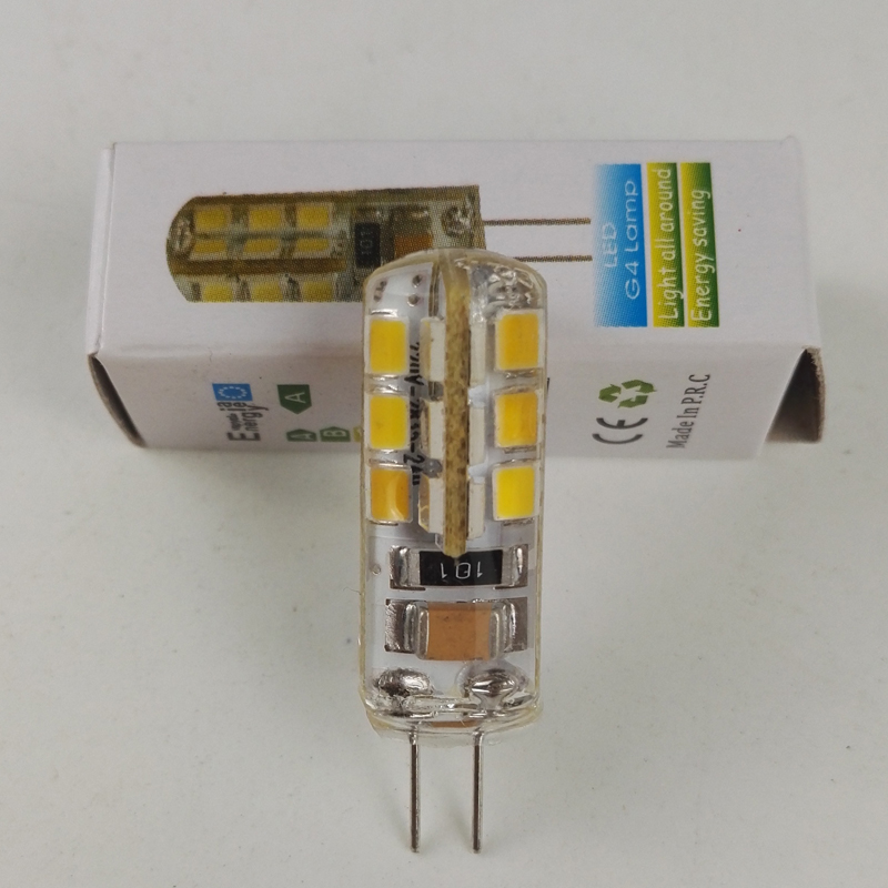 Mini 3W G4 LED Bulb lamp AC 110/220V 360 Beam Angle Chandelier Lights Replace Halogen G4 Lamps
