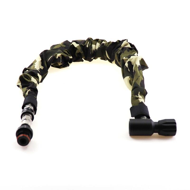 Пейнтбольный Воздушный пистолет страйкбол PCP Удаленная катушка шланг лесная камуфляжная крышка аксессуар