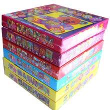 6 видов конструкций в наборе для детей eva, мозаичный стикер, Детские художественные поделки, 3D Обучающие игрушки-головоломки для детей