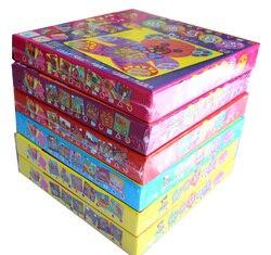 Мозаика из этилвинилацетата для детей, набор из 6 видов конструкций, наклейки для детей, художественные поделки, 3D Обучающие игрушки-пазлы д...