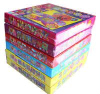 6 Disegni per Set Bambini EVA Mosaico Stickers Per Bambini Artigianato D'arte Trasporto Degli Animali FAI DA TE 3D Puzzle Giocattoli Educativi per I Bambini