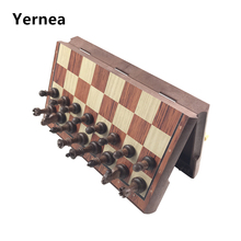 High Quality Magnetic Chess Large High-grade Imitation Mahogany Wood WPC toy Impact Plastic Materials