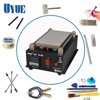 UYUE Latest 7 Inch LCD Separator Machine Screen Repair Machine Kit For IPhone For Samsung Build