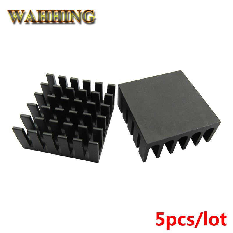 5pcs Computer Cooling Fin Radiator Aluminum Heatsink Heat sink for Electronic Heat dissipation Cooling Pads 22*22*10mm HY1145 75 29 3 15 2mm pure copper radiator copper cooling fins copper fin can be diy longer heat sink radiactor fin coliing fin