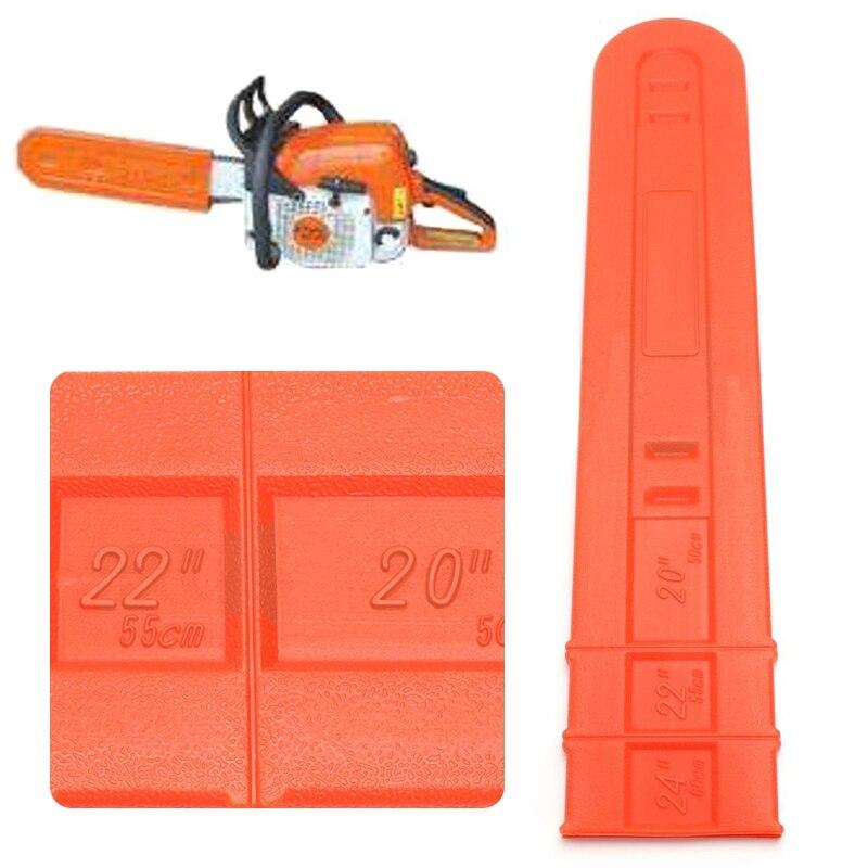 20 22 24 Orange Chainsaw Bar Cover Scabbard Universal Guide Plate20 22 24 Orange Chainsaw Bar Cover Scabbard Universal Guide Plate