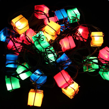 EU Plug LED String Christmas Decoration Lights Lights String Lights Holiday Tree Lights Strips Spring Festival Decorations