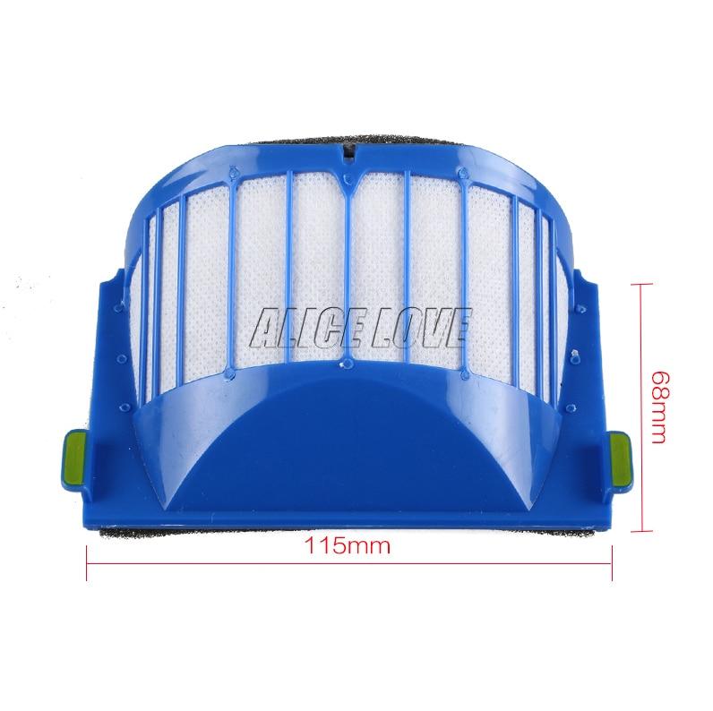 4pcs hepa filter suitable for ROOMBA IROBOT 500 600 SERIES AEROVAC FILTER 528 536 551 552 564 580 595 620 630 650 цены онлайн