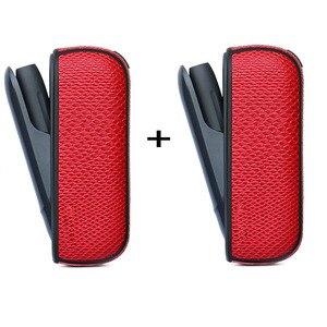 Image 4 - Jinxincheng 2Pc Lot Leather Case Voor Iqos 3 Cover Pouch Voor Iqos 3.0 Beschermende Houder Tas Accessoires