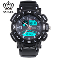 5ATM Waterproof  New SMAEL Poducts Multifunctional Luminous Products Top Sport Watch Fashional Colorful LED Digital 1327