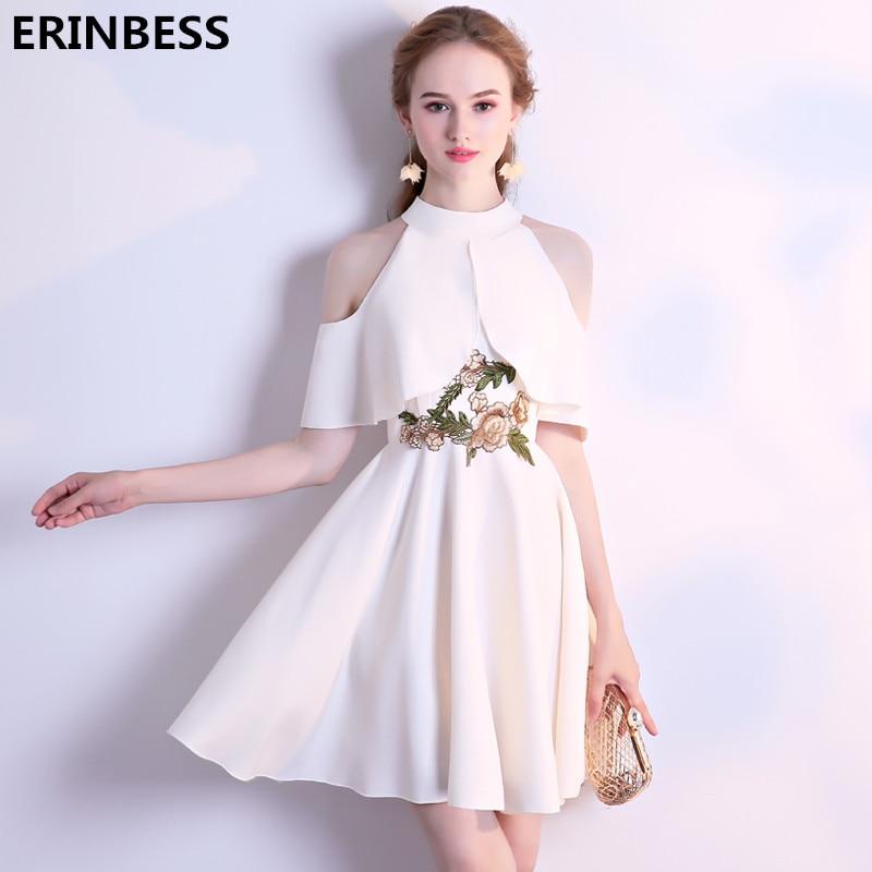 Vestido De Festa Halter Neck Satin With Flowers   Bridesmaid     Dresses   Formal Party Gowns   Bridesmaid     Dress   Robe Demoiselle D'honneur