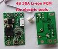 4S 30A BMS PCM PCB 18650 placa de proteção da bateria li-ion para ferramentas elétricas broca chave de fenda