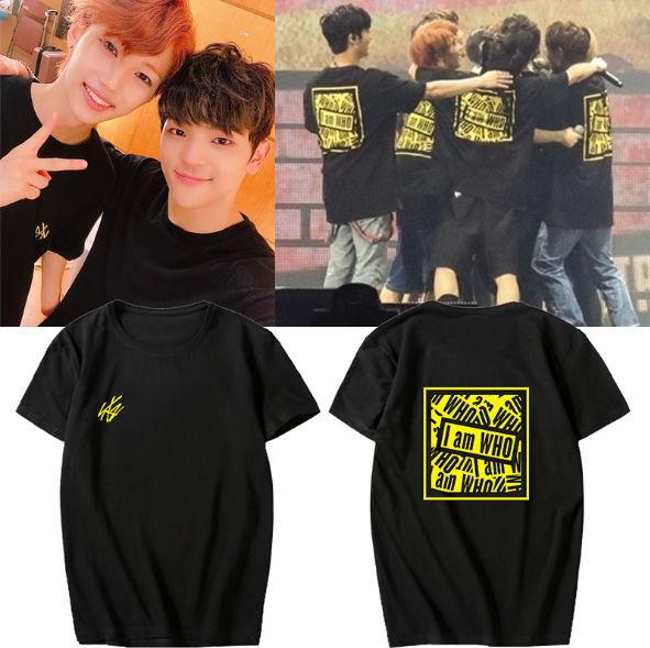 US $11 99 |New KPOP Stray Kids New Album I AM WHO Unisex StrayKids T shirt  Tee Graphic Cotton T shirt Short Sleeve Tops-in T-Shirts from Men's