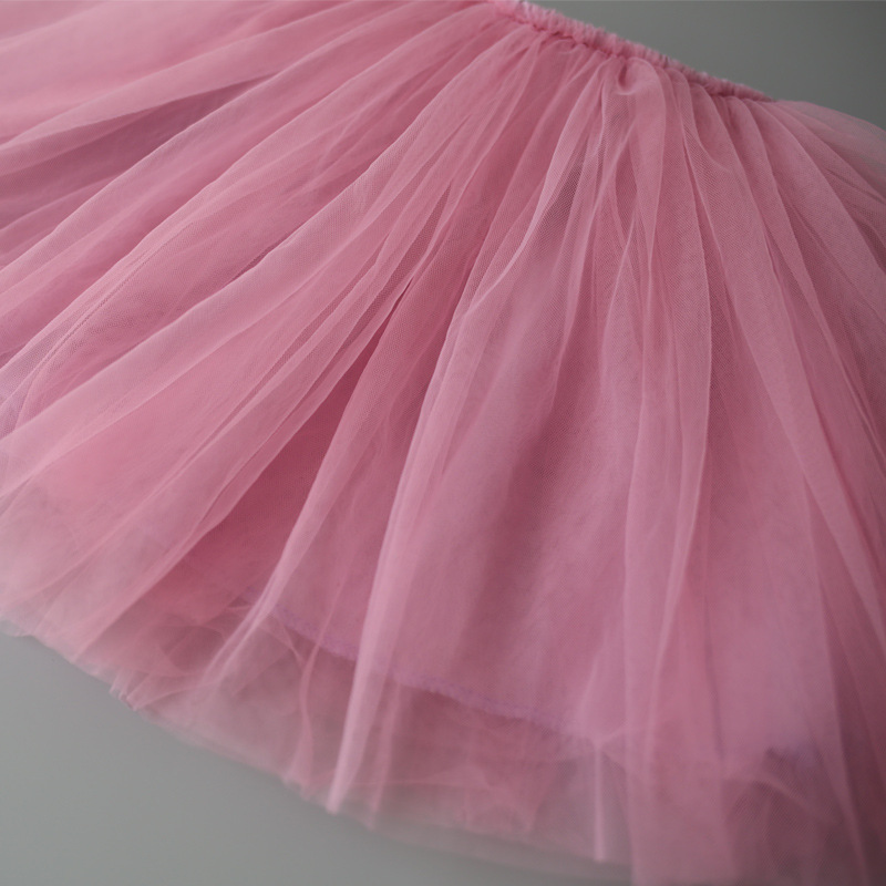 Baby Girls Tutu Skirts Pettiskirt Kids Tulle Skirt Children Underskirt Ballet Dance Petticoat Party Miniskirt Clothes Wholesale (7)