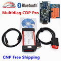 2016 New TCS CDP Multidiag Pro 2014.R3 For Car/Truck Multidiag New VCI CDP Pro Bluetooth OBD2 Diagnostic Scanner Free Ship