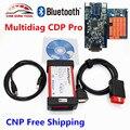 2016 Novos TCS CDP Multidiag Pro 2014. R3 Para O Carro/Caminhão Multidiag Novo VCI CDP Pro Bluetooth OBD2 Scanner de diagnóstico Navio Livre
