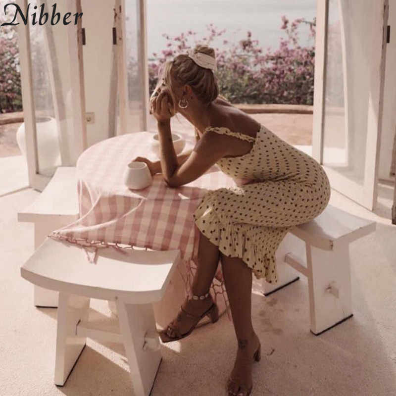 Nibber boho bodycon миди вечерние платья женские 2019 летние белые черные элегантные романтические женские пляжные повседневные каникулы Клубное длинное платье