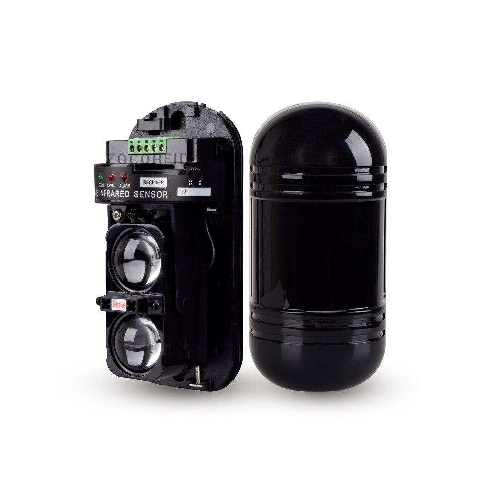 Infrared Detector Intrusion Alarm Burglar Alarm  Photoelectric Dual Beam Perimeter Fence Window Outdoor