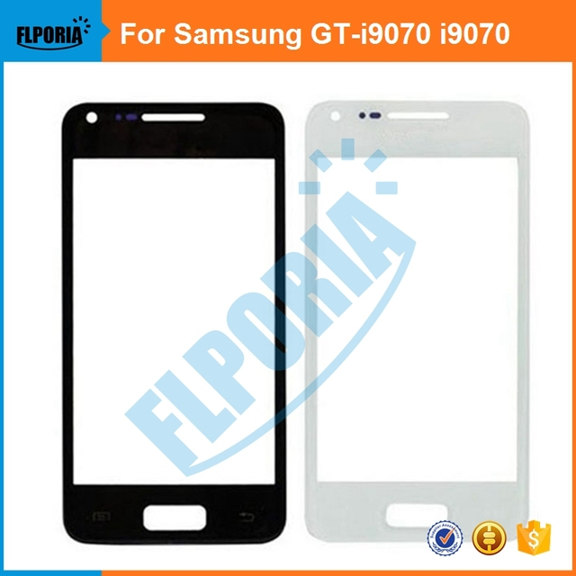 FLPORIA 5PCS For Samsung Galaxy S Advance GT-i9070 i9070 Front Outer Screen Glass Lens Repair Touch Screen Outer Glass