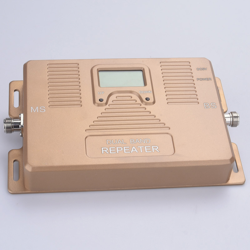 Image 3 - Full Intelligent Dual Band 900/1800MHz Mobile Signal Booster Cell Phone Signal Repeater Signal Amplifier for 2G 4G users-in Signal Boosters from Cellphones & Telecommunications