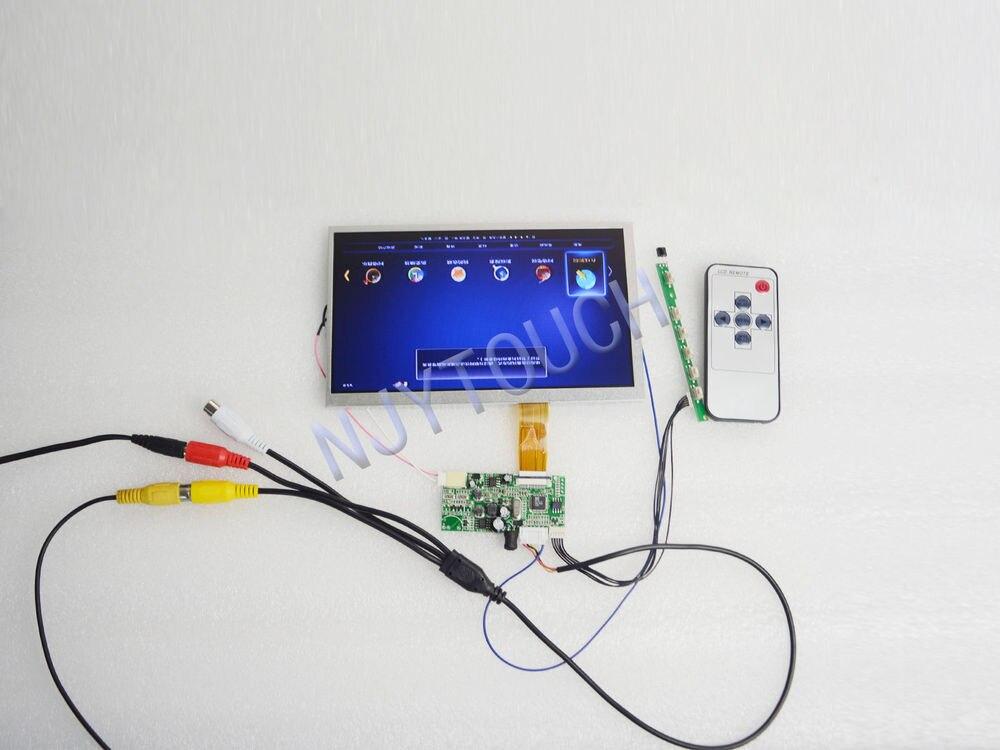 ФОТО Free Shipping AV+Remote LCD Controller Board+7
