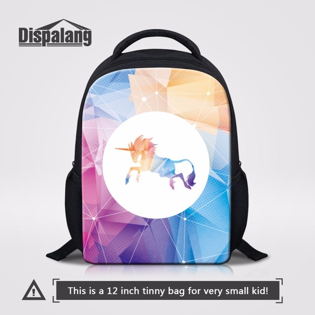 dd7d1f451ffe Dispalang Mini School Bag 12 inch Small Backpacks For Children Kids  Bookbags Unicorn Kindergarten Bag Toddler Mochila Backpack