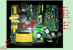 Новый усилитель 500 Вт, Импульсный блок питания, блок питания с двойным напряжением +/-55 В +/- 60 В постоянного тока +/- 50 В постоянного тока