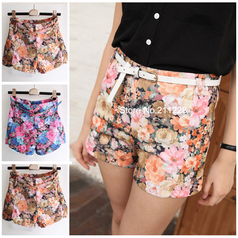 Aliexpress.com : Buy 2016 Summer Fashion Women's Floral Short ...