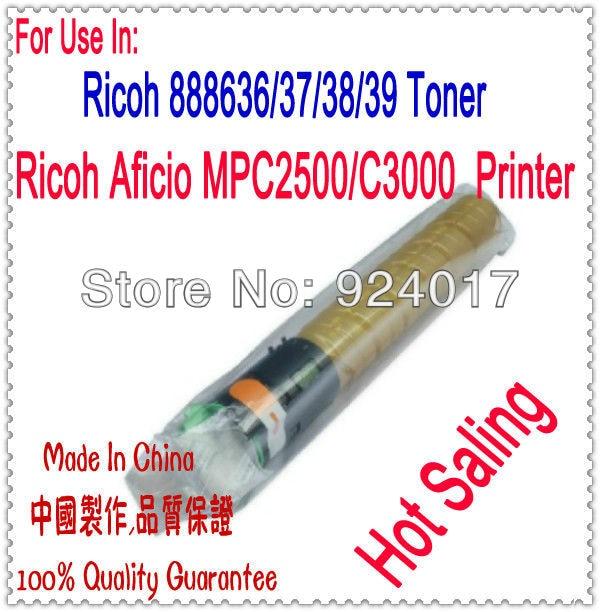 For Ricoh MPC2000 MPC2500 MPC3000 Toner Cartridge,Toner Refill For Ricoh Aficio MP C2000 C2500 C3000 Copier 4kg refill laser copier color toner powder kits for ricoh mpc 2530 mpc 2050 mpc 2550 mp c2030 c2530 c2050 c2550 m pc2030 printer