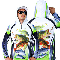 Thương hiệu Người Đàn Ông/Phụ Nữ Chống UV/Breathable/Nhanh Chóng làm khô Quần Áo Chuyên Nghiệp Fishing Men Lưới Đánh Cá Áo Sơ Mi Camisas Pesca