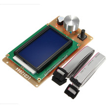 3D printer RAMPS1.4 lcd 12864 control Lcd Module adjustable Large screen 12864 LCD 3 (inches) Motherboard integrated SD card