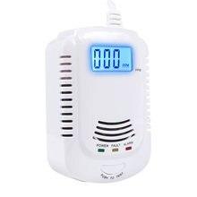 Датчик угарного газа комбинированный детектор дыма для домашней