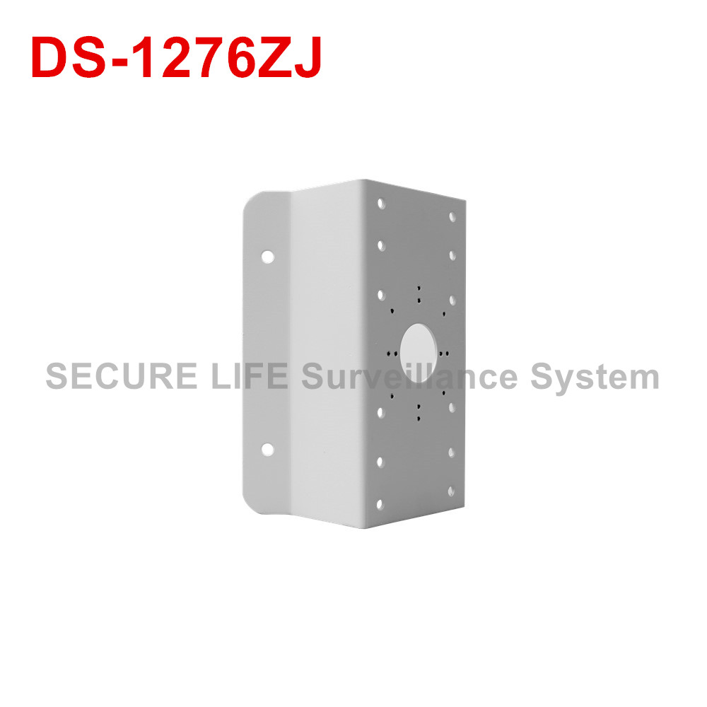 DS-1276ZJ corner mount bracket for cctv camera cctv bracket ds 1212zj indoor outdoor wall mount bracket suit for bullet camera s bracket ip camera bracket