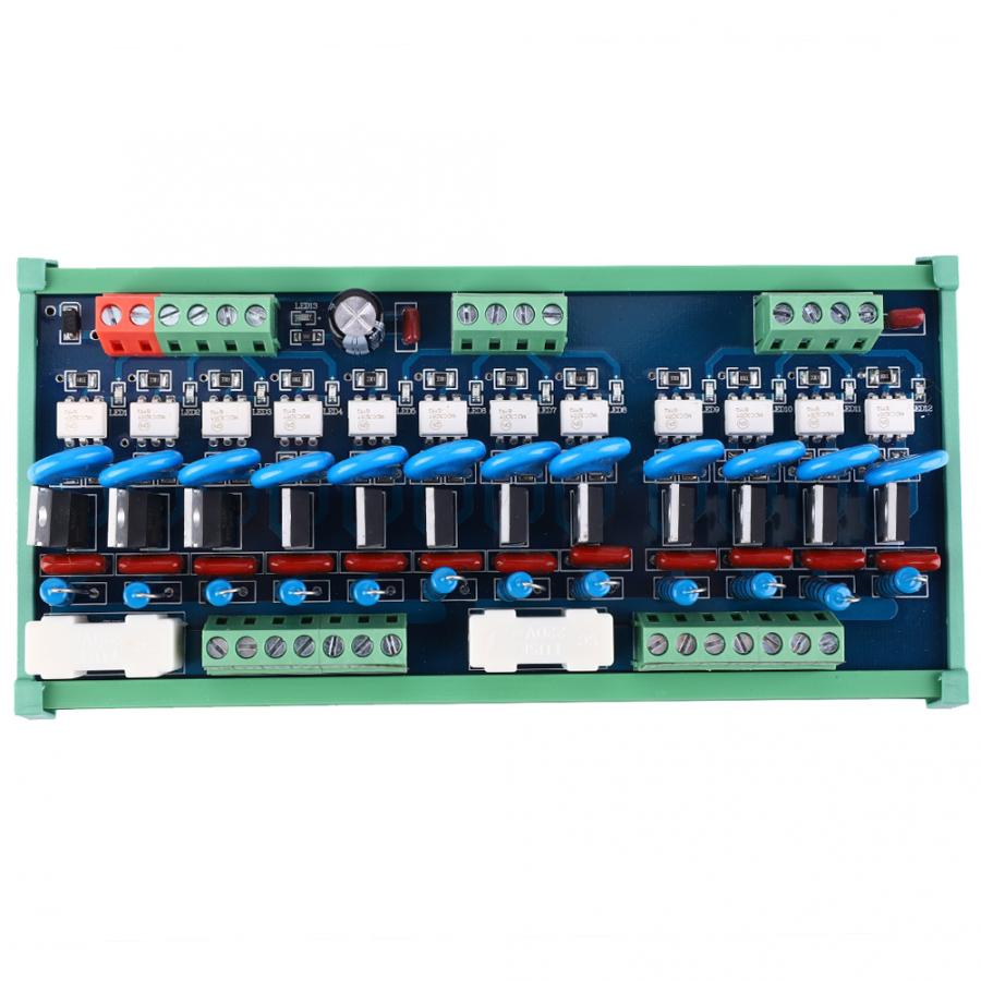 DC alimentation réglable 12 canaux PLC DC amplificateur SCR silicium contrôlé redresseur sortie panneau d'alimentation contrôleur de tension