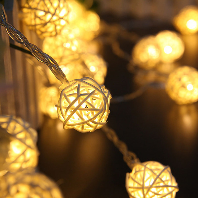 Hot 1pc wedding chandeliers christmas decorations solar cotton ball hot 1pc wedding chandeliers christmas decorations solar cotton ball lamp thailand chinlon led lights series battery aloadofball Image collections